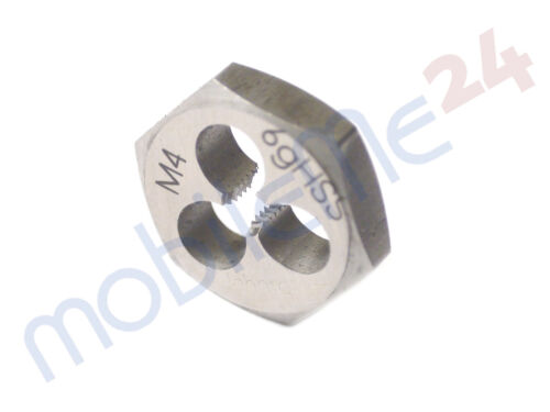 Schneidmutter 6-Kant Schneideisen M4 M6 M8 M12 Regelgewinde Gewindeschneider
