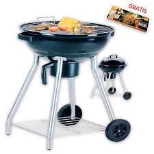 Holzkohle Grill Standgrill Gartengrill Kugelgrill Barbecue BBQ XL Streichhölzer