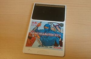 The-NinjaWarriors-NEC-PC-Engine-Hucard-import-JAP
