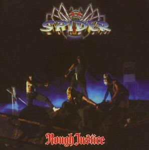 Spider-Rough-Justice-CD-2007-Remaster-Reissue-NWOBHM-Status-Quo