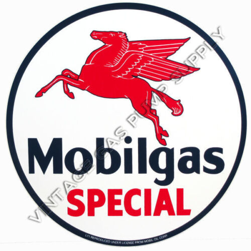 Mobilgas Special Round 12 Vinyl Decal (DC131)