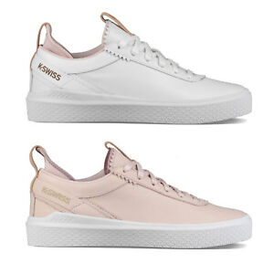 K-Swiss Modèle Dani Baskets Femmes Chaussures de Sport Basses Décontractées Neuf