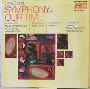 JOE SCOTT A Symphony of our Time LP Rock/Classical/Jaz w/Dick Hyman,Jay Berliner