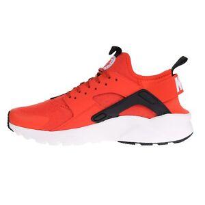 c9f28d0a66425 Nike Air Huarache Run Ultra Habanero Red White-White-Black (819685 ...