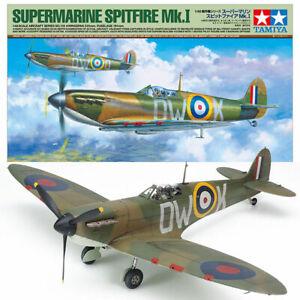 TAMIYA-61119-Spitfire-Mk1-A-1-48-Aircraft-Model-Kit