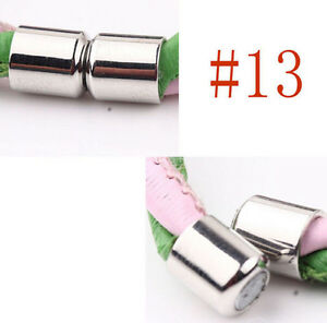 New 5 Sets Silver Plated Tone Strong Magnetic Clasps Hooks Jewelry DIY Craft