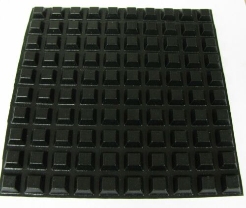 "USA made USA shipping 100 SELF ADHESIVE RUBBER FEET 1//2/"" stickon equipment foot"