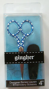 "Gingher LAUREN Designer Series 4"" Limited Edition Embroidery Scissors"