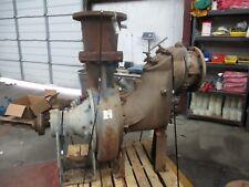 Gorman Rupp 112060 B Iron Centrifugal Pump 320924j Sn18828 Used