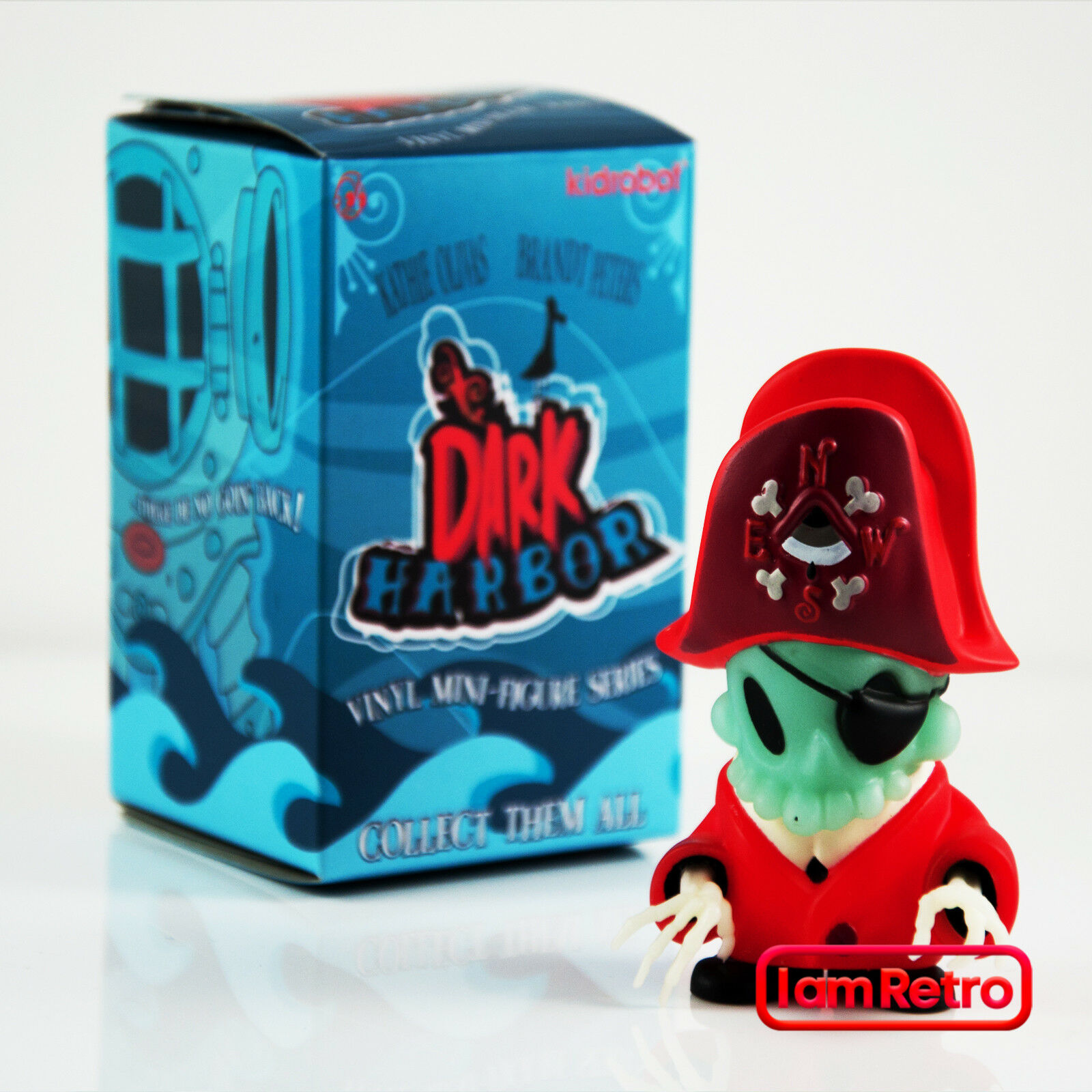 Dread Pirate Dark Harbor Mini Series Vinyl Figure Brand Peters x Kidrobot