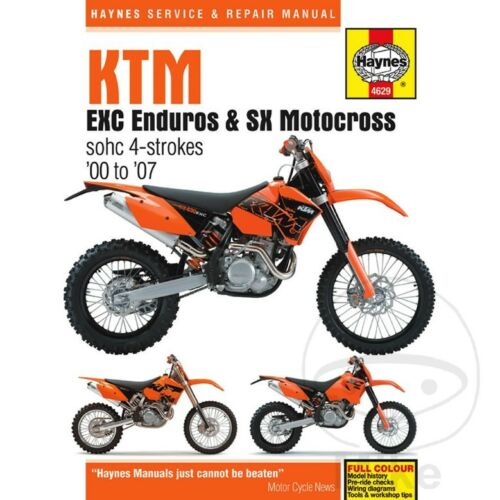 For KTM EXC 400 Racing 2000 Haynes Service Repair Manual 4629