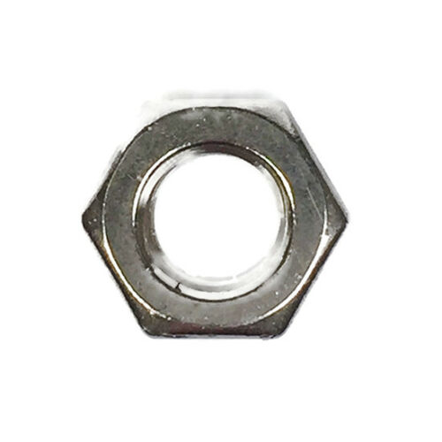 Stainless Steel Finished Hex Nut UNC 3//8-16 Qty 50