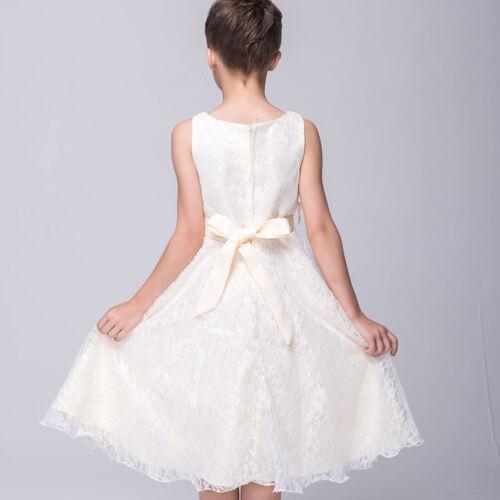 Mädchen Festkleid Kinder Abendkleid Blumenmädchen Partykleid Hochzeit Festkleid
