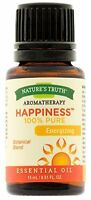 6 Pack Nature's Truth Aromatherapy Happiness Pure Essential Oil 0.51 Oz Each