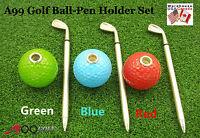 A99 Golf Ball Pen Holder Set Gift Set