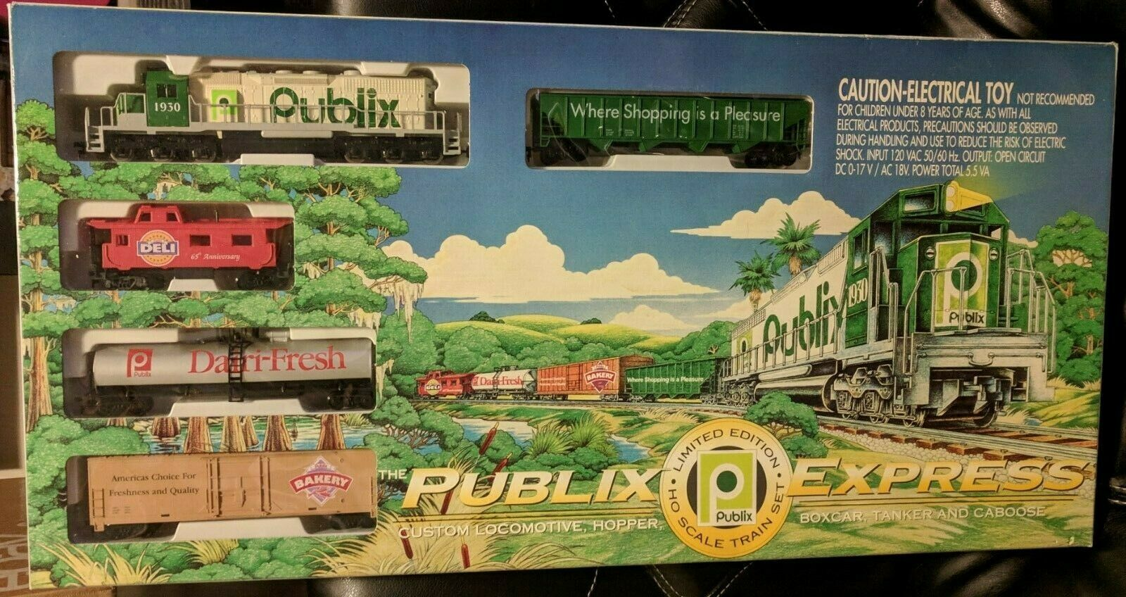 NEW PUBLIX EXPRESS LIMITED EDITION HO SCALE TRAIN SET (ORIGINAL BOX NIB) IHC