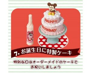 Fine Re Ment Miniature Minnie Mickey Mouse Cake Sweets Shop Birthday Funny Birthday Cards Online Elaedamsfinfo