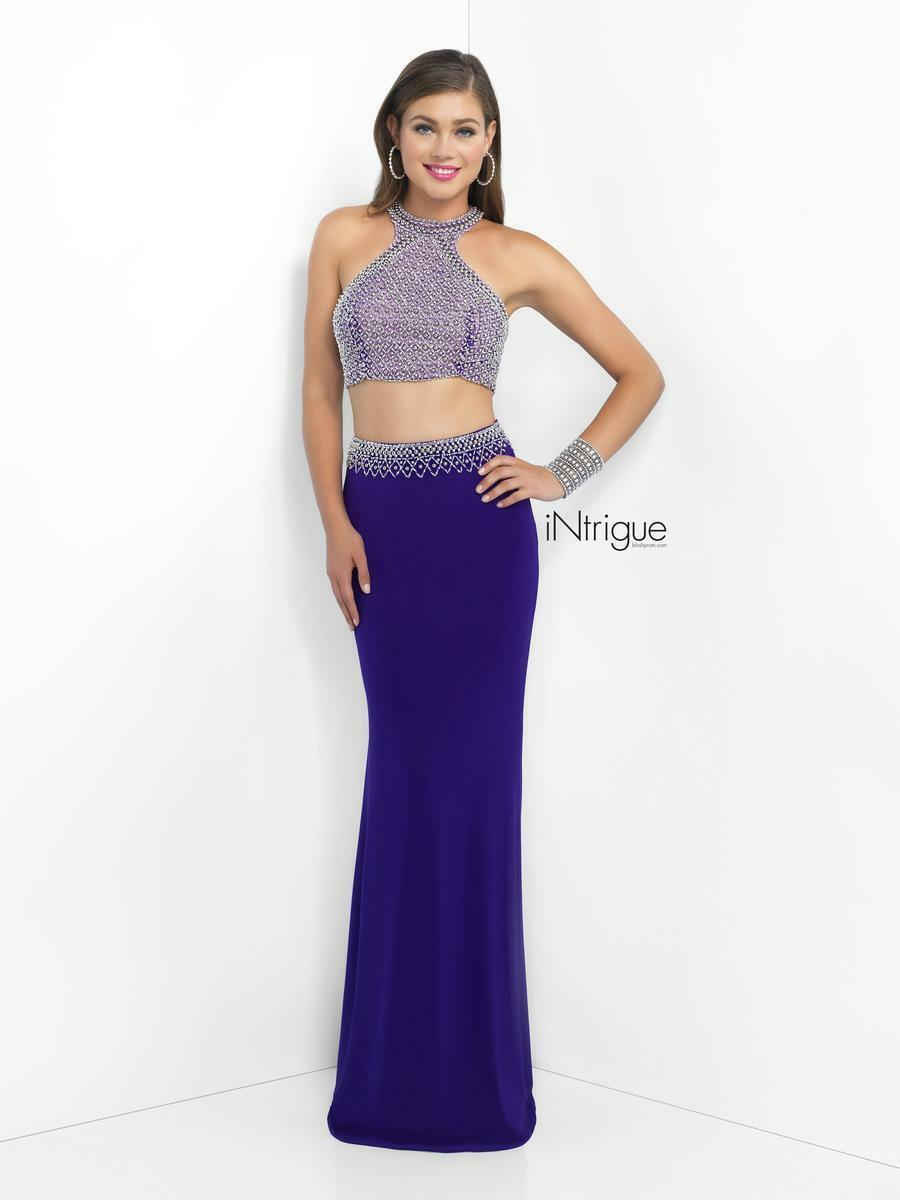 299 NWT TWO PIECE blueSH INTRIGUE PROM PAGEANT FORMAL DRESS GOWN SIZE 6