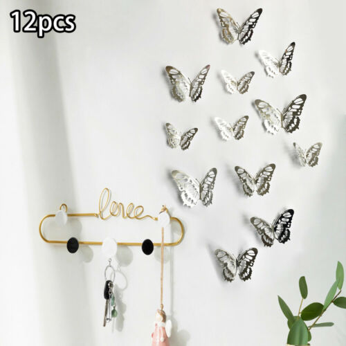 Wall Stickers Bedroom Home decoration Beautiful Ornament Supplies 12PCS