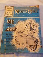 The Motor Cycle(30march1961)Ambassador Electra 75/Laverda Scooter/Triton/Norton