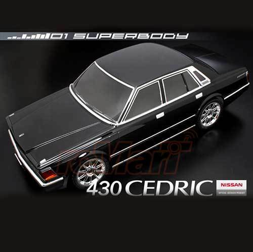 ABC Hobby NISSAN CEDRIC 430 190mm Body Set For 1 10 RC Cars Touring Drift