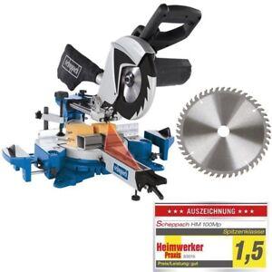 Scheppach-Profi-Kappsaege-Gehrungssaege-HM100MP-2-stufig-2-Saegeblatt-255mm-48Z