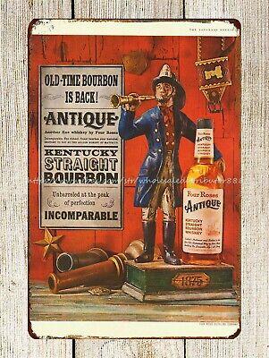 "TIN SIGN /""Comet Whiskey/"" Bourbon Alcohol Bar Man Cave Vintage Ad"