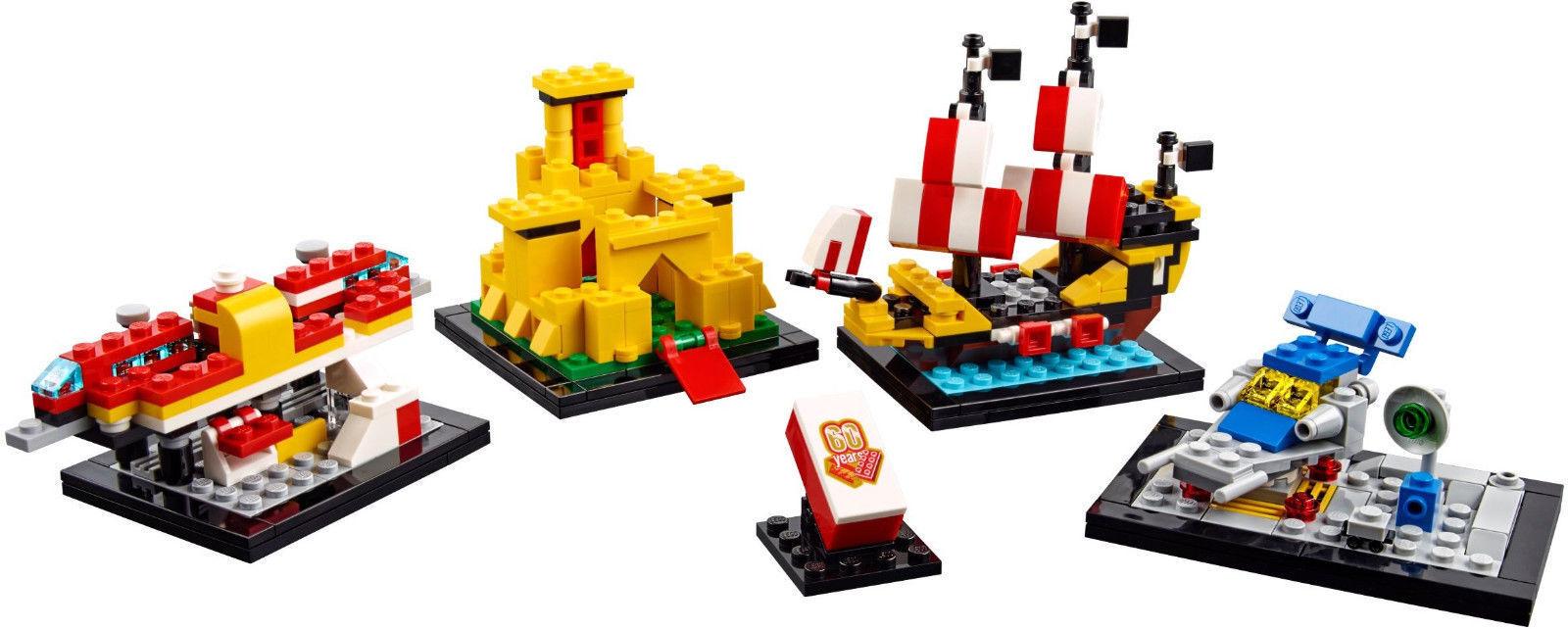 Joie de Noël, étape par étape étape étape Lego 40290 set 60 years anniversaire Lego NEUF EXCLUSIF DISPONIBLE d29b23