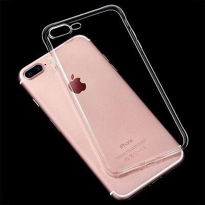 Cover iPhone 8 Plus iPhone 7 Plus Ultra-fine silicone Transparent