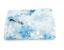 The Big One BLUE SNOW FLAKES Plush Throw Oversized 5 Feet x 6 Feet Plush Blanket