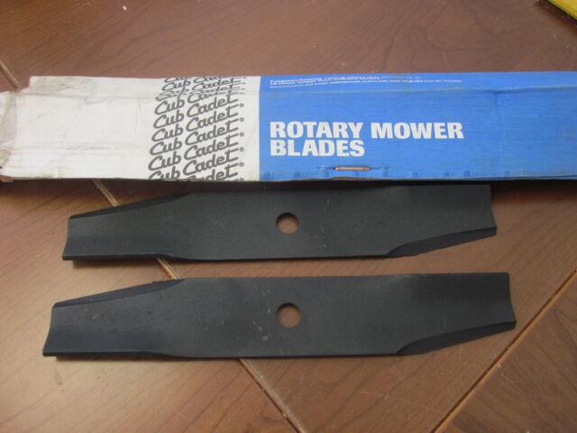 **2 Blades** Cub Cadet Mower Blades NEW Part # 759-3849 or 490472R1
