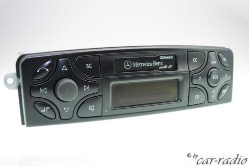 ORIGINALE Mercedes Audio 10 CASSETTA be6011 w203 w209 w639 w463 radio a2038201586