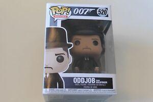 520 Oddjob from Goldfinger (007) - Funko Pop! Movies Vinyl figure