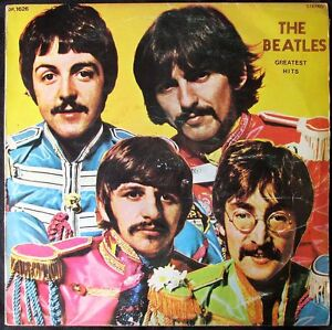 Image Is Loading THE BEATLES GREATEST HITS TURKEY ONLY UNIQUE Sgt