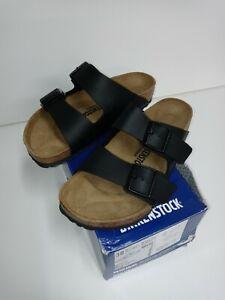 Birkenstock-Womens-Arizona-Black-Oiled-Leather-Sandals-EUR-38-W7-M-5