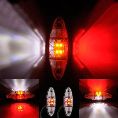 Umrissleuchte Begrenzungsleuchte Markierungsleuchte rot ohne Halter mit Kabel 2x0,75 mm/² Anh/änger LKW Wohnwagen Nutzfahrzeuge Trailer