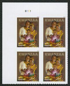 #5337 Kwanzaa, Placa Bloque [B1111 Ul ], Nuevo Cualquier 5=