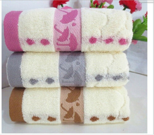 3pcs//lot Cotton Universal Luxury Soft Towels 34X75cm Cotton umbrella Face Towel