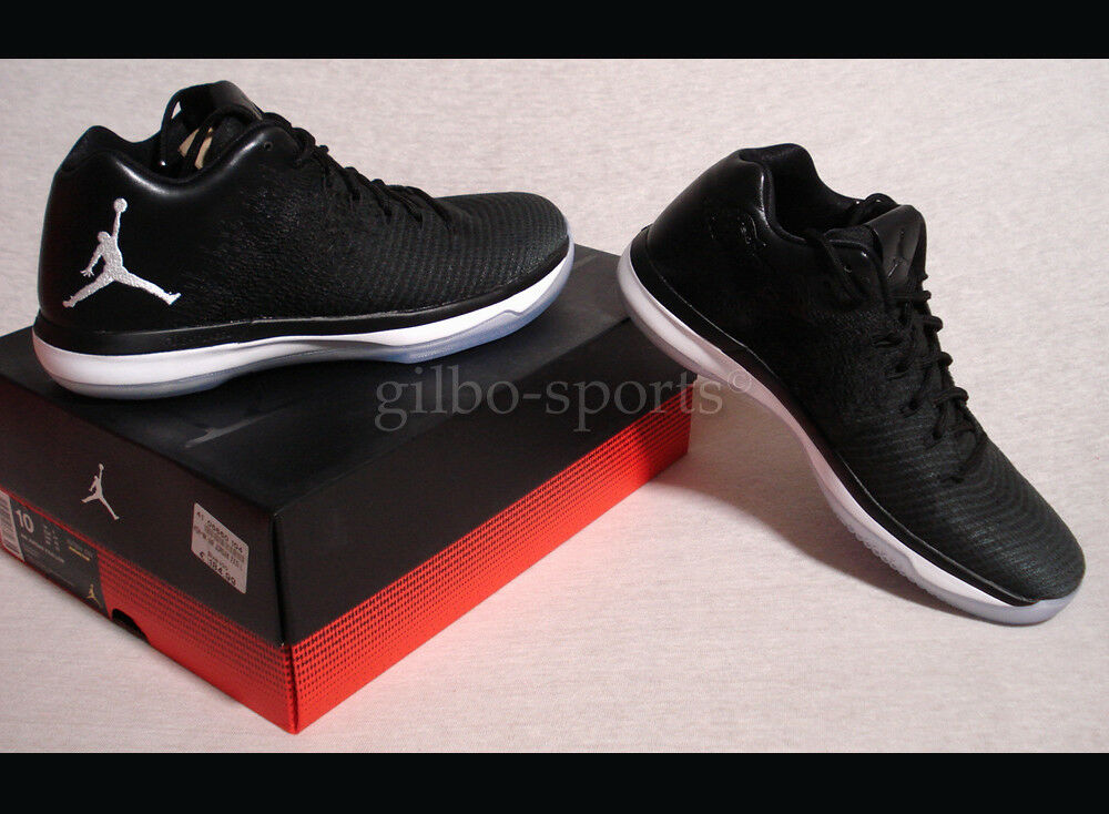 Nike Air Jordan XXXI Low 44  Black  Gr. 44 Low Neu 897564 002 retro Negro 19c837