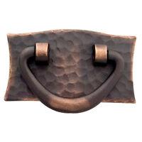 Stickley Dark Copper 3-1/4 W X 1-13/16 H, V-drawer Pull