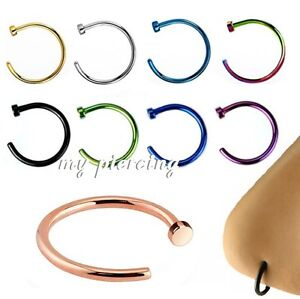 22g-20g-18g-1-4-034-5-16-034-3-8-034-Titanium-Anodized-Surgical-Steel-Hoop-Nose-Ring