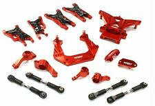 Integy Billet Machined Suspension Kit for Traxxas 1/10 Nitro Slash 2WD Red