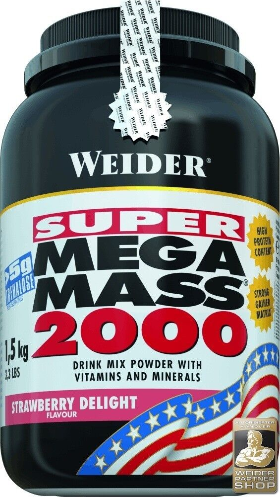 Super Mega Mass Mass Mass 2000 für Sportler die Muskelmasse aufbauen möchten Weider eacb06