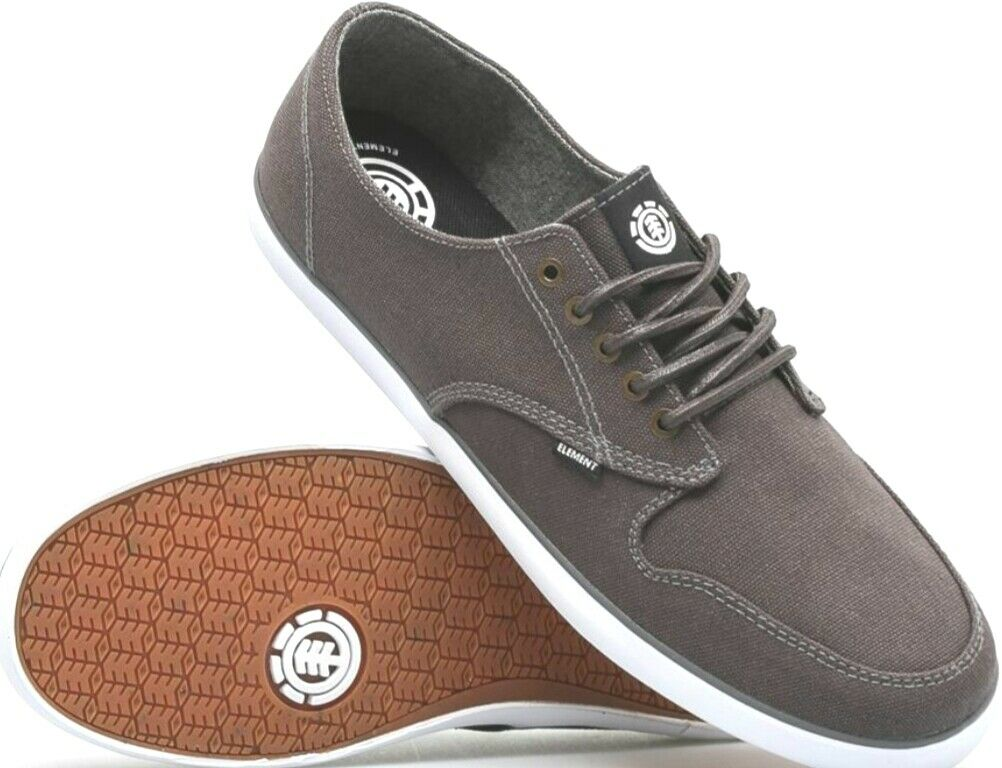 Elemento Zapatos Topacio B gris Piedra Zapato en gris Oscuro Hombres Nuevos