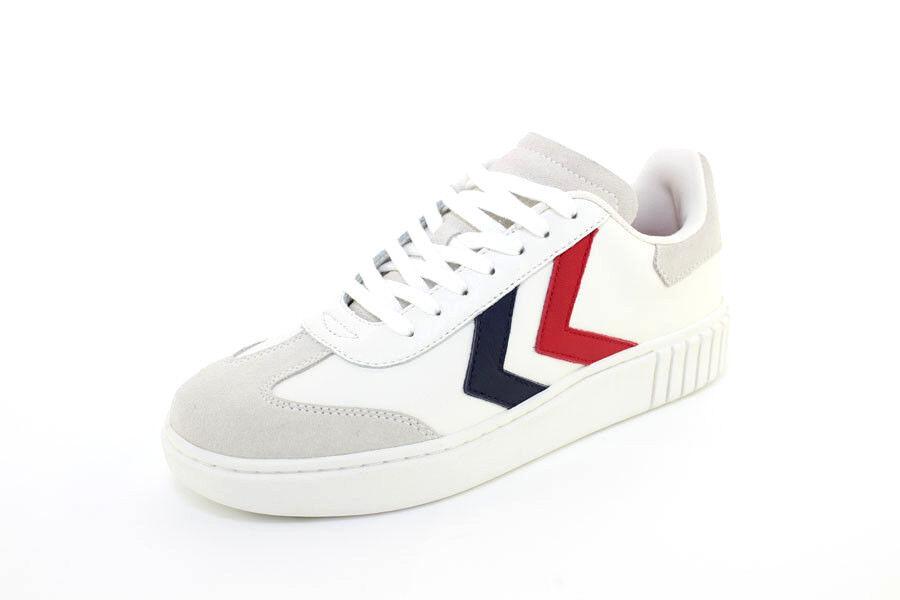 Hummel Sneaker - Aarhus Classic Niedrig - Weiß - Peacoat ROT - Fiery ROT Peacoat - 64-524-9824 13ddea