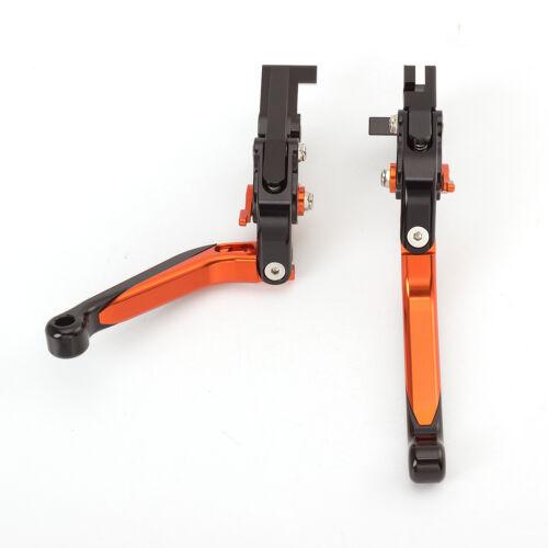 CNC Folding Extending Brake Clutch Levers For Suzuki HAYABUSA//GSXR1300 08-16 17