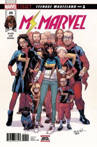 Ms Marvel #25 Kamala Khan Marvel Comics 1st Print EXCELSIOR BIN