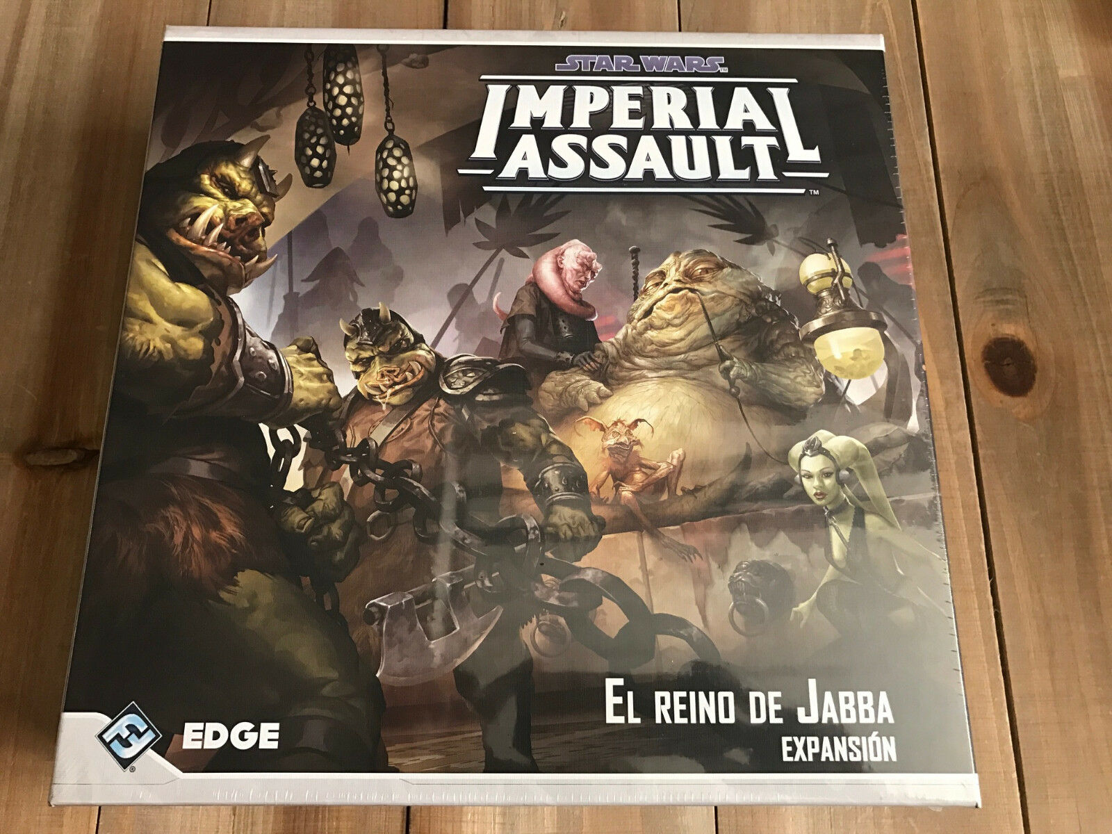 Star Wars Imperial Assault - El Kingdom of Jabba - Edge Game Table Expansion Ff