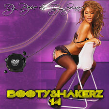 Bootyshakerz Music Video Mix DVD Vol.14 R&B-Hip Hop-House-Bounce-Top 40