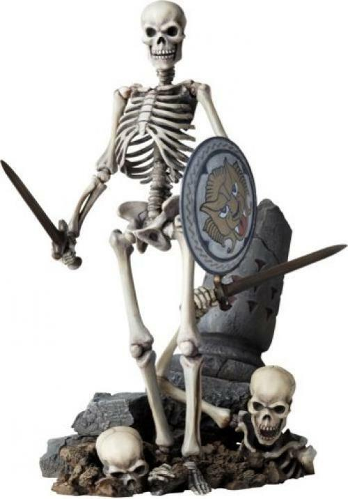 NEW Tokusatsu Revoltech No.020 Jason and the Argonauts Skeleton Army Figure